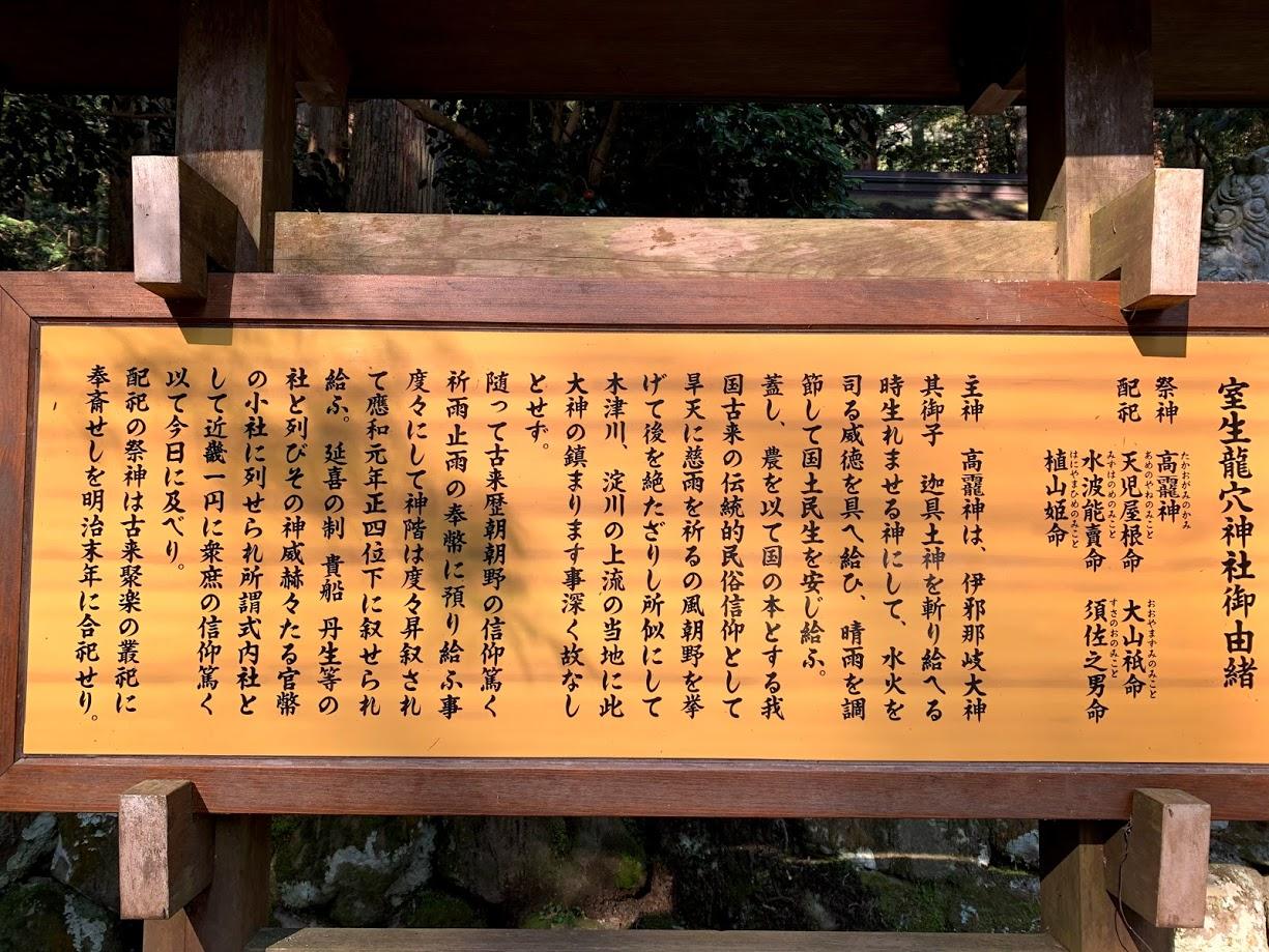 龍穴神社ご祭神